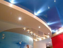 Натяжные потолки г.Энгельс, сатиновые натяжные потолки, глянцевые натяжные потолки